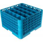 "OptiClean™ Dishwasher Glass Rack, 25-compartments (3-1/2"" x 3-1/2"") with (5) extende"
