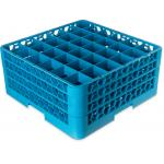 "OptiClean Dishwasher Glass Rack, 36-compartments (2-15/16"" x 2-15/16"") with (3) exte"