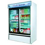 Turbo Air 2 Section Glass Door Merchandiser Refrigerators image