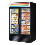 True Refrigeration 2 Section Glass Door Merchandiser Freezers image
