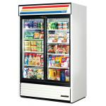 True Refrigeration 2 Section Glass Door Merchandiser Refrigerators image