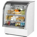 True Refrigeration Curved Glass Refrigerated Deli Cases image
