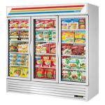 True Refrigeration 3 Section Glass Door Merchandiser Freezers image