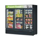 Turbo Air 3 Section Glass Door Merchandiser Freezers image