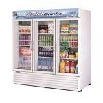 Turbo Air 3 Section Glass Door Merchandiser Refrigerators image
