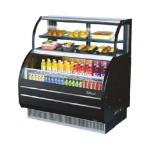 Turbo Air Dual Service Open Air Curtain Merchandisers image